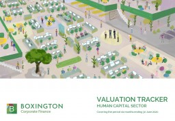 Valuation Tracker for Human Capital sector