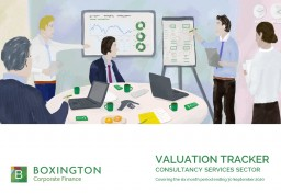 Valuation Tracker for Consultancy services sector